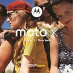1 Августа — анонс Moto X