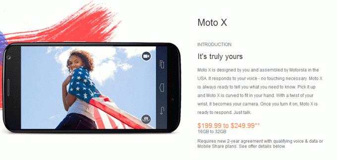 Moto X Price